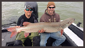 Green Bay Fall Musky Fishing
