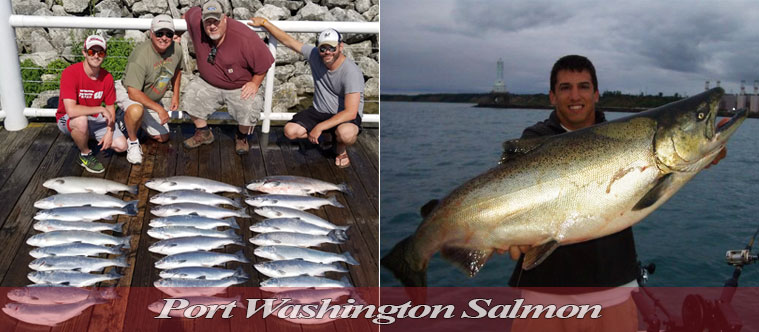 Wisconsin fishing guide green bay walleyes smallmouth for Salmon fishing wisconsin