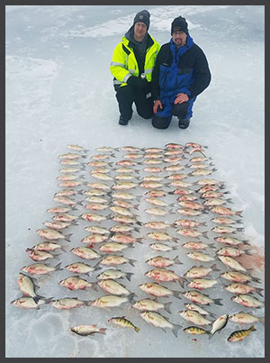 Winnegago Ice Fishing for Panfish