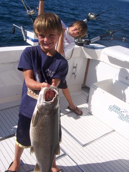 Lake Trout Even Kids Can Reel them in