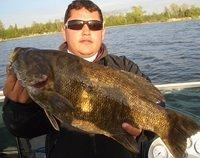 6lb smallmouth 23 inches