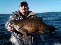 Little Sturgeon bay pre spawn smallmouth