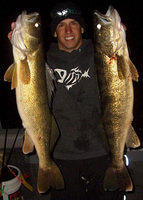 Douple on nice walleyes